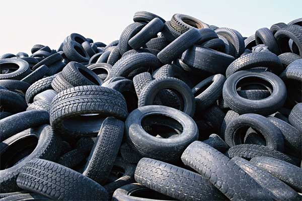 waste-tyres