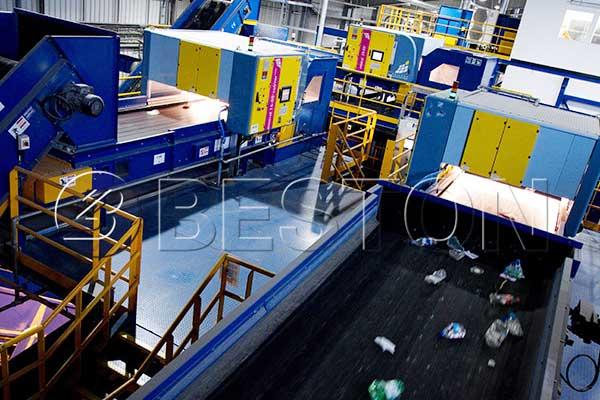 MSW Sorting Machine Price