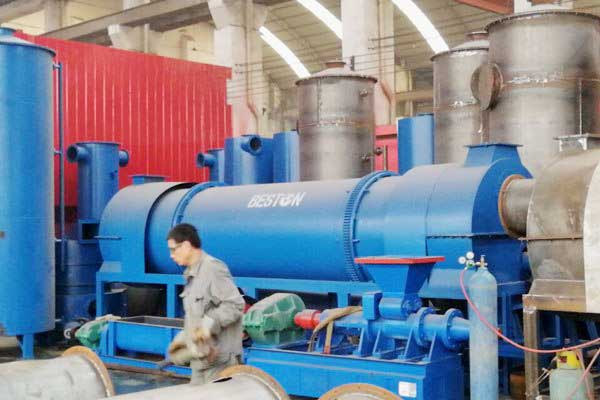 Coconut shell charcoal machines